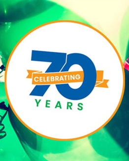 Help Us Celebrate our 70th Anniversary